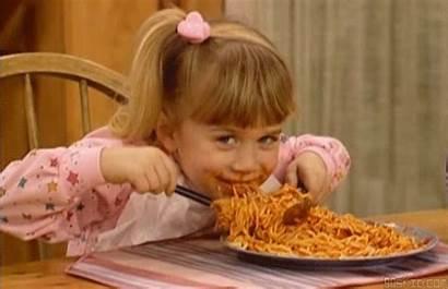 Emoji Diet Woman Eats Texting Pasta Giphy