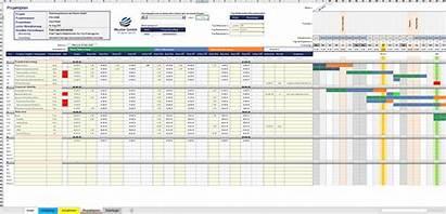Excel Projektmanagement Vorlagen Vorlage Paket Tool Muster