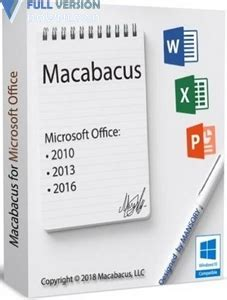 macabacus  microsoft office  full version