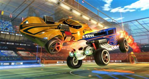 psyonix  hot wheels annunciano il rocket league rc toy set