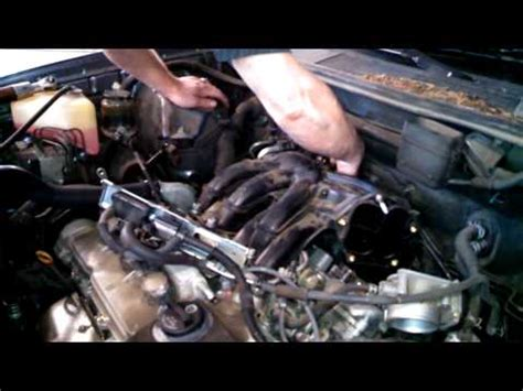 how to replace the l in a tv how to change lexus spark plugs l part 4 funnycat tv