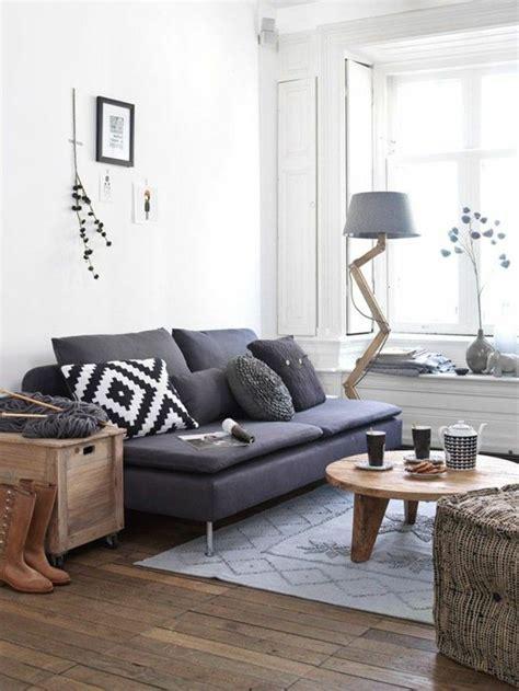 deco salon avec canape gris les 25 meilleures idées concernant canapé gris foncé sur