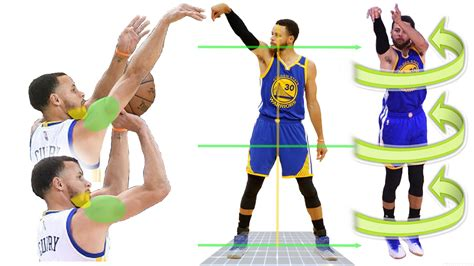 how to stephen curry sideways shooting form secret