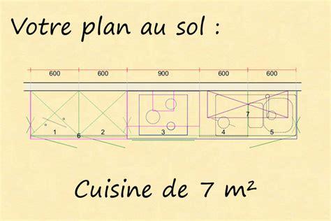 plan type de cuisine implantation type cuisine pour la famille par venidom