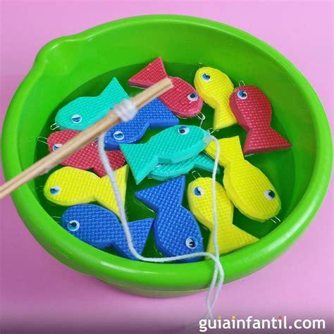 De manera específica se trató el tema del juego y el aprendizaje, demostrando que. Juego pesca el pez. Manualidades para niños