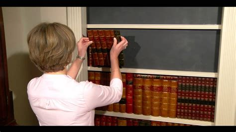 faux books how to make a faux book secret door youtube