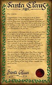 santa letter on pinterest letter to santa letter from With magic santa letter