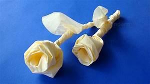 Rose Aus Serviette Drehen : servietten falten rose origami rose basteln mit servietten diy geschenkideen ~ Frokenaadalensverden.com Haus und Dekorationen