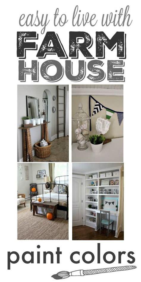 our home s farmhouse paint colors paint colors home and