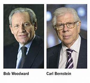 Pulitzer-Winning Journalists Woodward and Bernstein to ...