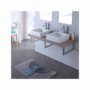 Console Salle De Bain : vente de meuble pour salle de bain double vasque planete bain ~ Teatrodelosmanantiales.com Idées de Décoration