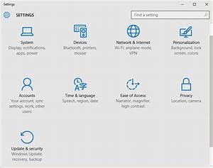 How to Open Settings App in Windows 10