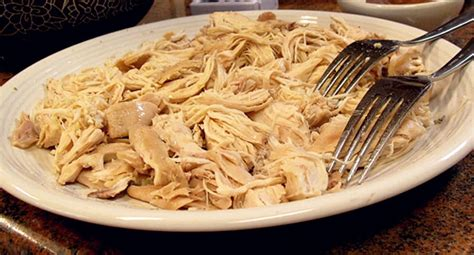 how to shred how to shred chicken cooking tips noshon it