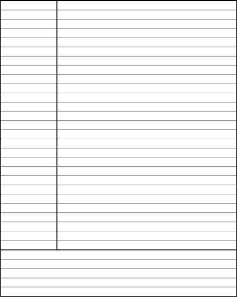 cornell notes template avid edit fill sign
