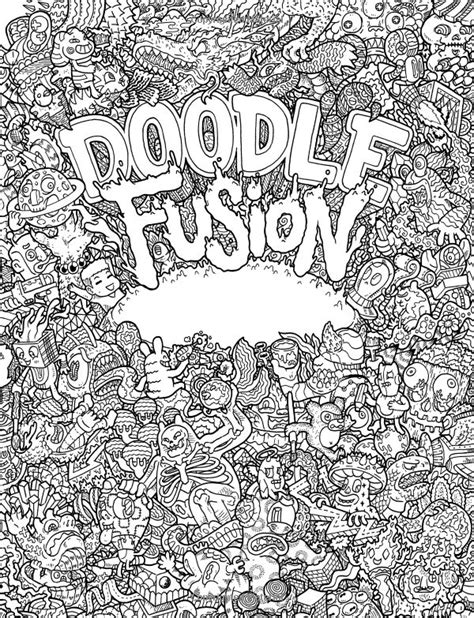 doodle coloring book 351 best images about colorir doodles on gel