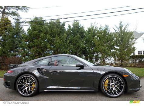 fashion grey porsche turbo s 2016 slate grey paint to sle porsche 911 turbo s coupe