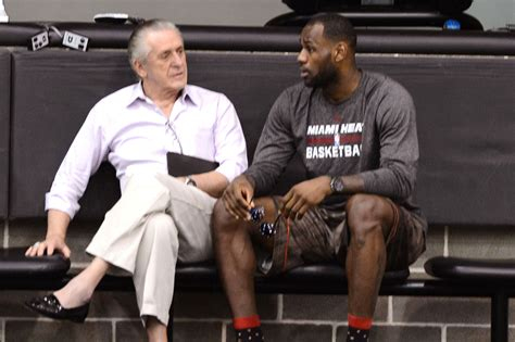 pat and lebron pat and lebron 28 images phil jackson says lebron wanted special treatment from pat bso pat