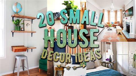 home interior decorating tips 20 small house decor ideas
