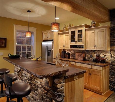 easy ways to achieve the rustic kitchen look decor around the