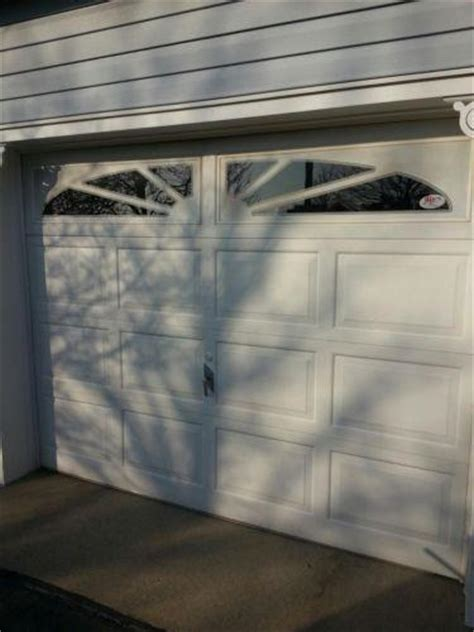 clopay 9x7 insulated garage door garage door 9x7 ebay