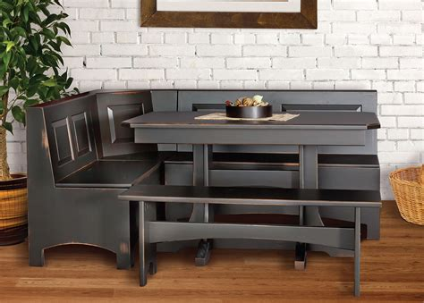 kitchen nooks lancaster legacy truewood furniture