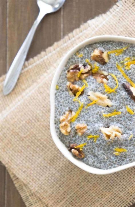 Leckere Pudding Rezepte Mit Chia Samen  Gesunde Ernährung