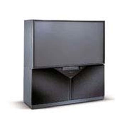 65 Inch Mitsubishi Projection Tv by Mitsubishi 65 Projection Television Ws 65869 Rear