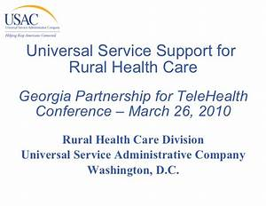 Universal Service Support for Rural Healthcare