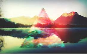 hipster 1 hipster triangle backgrounds hipster hipster wallpaper      Hipster Triangle Galaxy Wallpaper