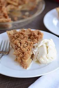 Easy Apple Crumble Pie Recipe | Mel's Kitchen Cafe