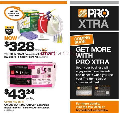 Home Depot Pro Savings Flyer November 1 To 14