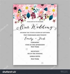 poinsettia wedding invitation sample card beautiful winter With samples of wedding shower cards