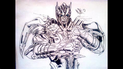 transformers  optimus prime flash drawing  youtube