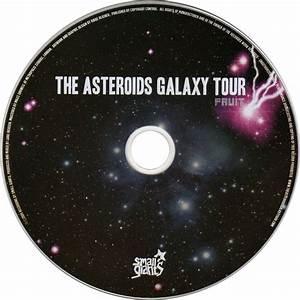 Carátula Cd de The Asteroids Galaxy Tour - Fruit - Portada
