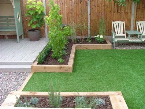 artificial grass  decking  concrete courtyard