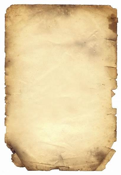 Clipart Paper Papel Parchment Clip Burnt Quemado