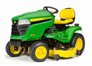 How Can The John Deere X320 Boost Efficiency Around Your