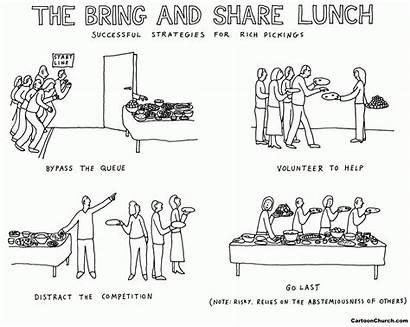 Bring Lunch Cartoon Church Cartoons Cartoonchurch Cc
