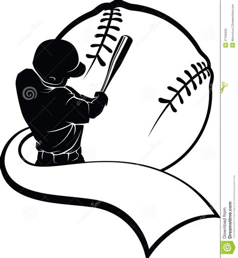 How to download the free file: Baseball Batter With Pennant Stock Photo - Image of batter ...