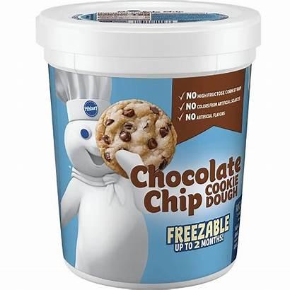 Dough Pillsbury Cookie Chip Chocolate Tub Bjs