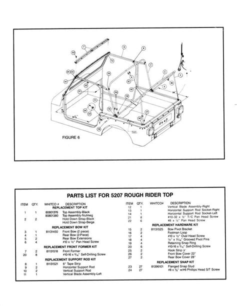 Whitco Wiring Diagram by Jeep Cj Top Latches Auto Electrical Wiring Diagram