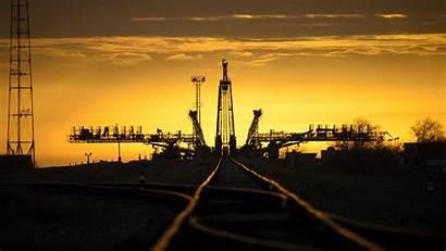 Baikonur Soyuz Cosmodrome Launch Sunset Sunrise Kazakhstan