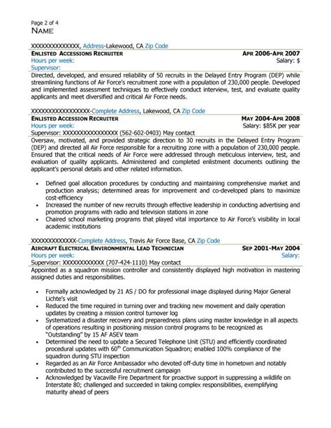 federal human resource specialist resume sle cover