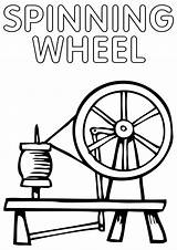 Wheel Spinning Coloring Pages sketch template