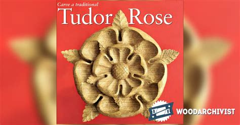 tudor rose carving wood carving patterns woodarchivist