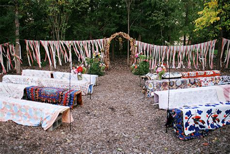 backyard wedding decoration ideas small  yard wedding