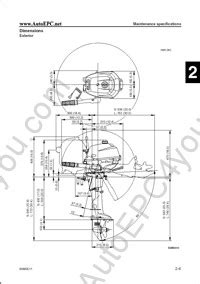 yamaha outboard motors service manual specifications electrical wiring diagrams yamaha e9 9d