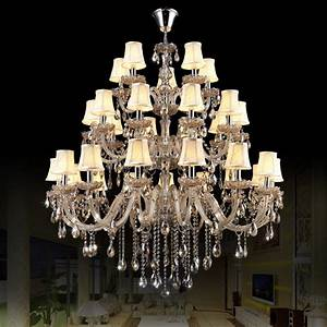 Aliexpress buy chrome chandelier with shades modern