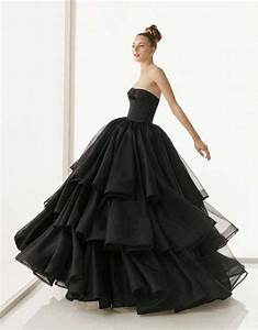 black strapless ball gown wedding dresscherry marry With black dress for wedding