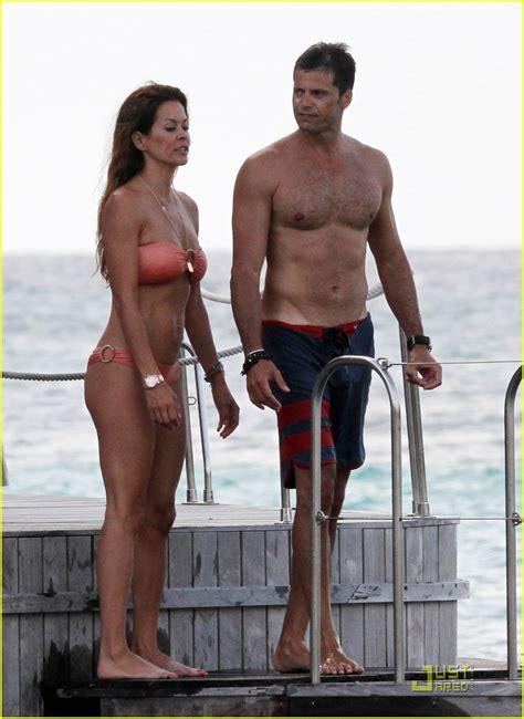 brooke burke charvet david married wedding bikini fanpop actors hottest shirtless
